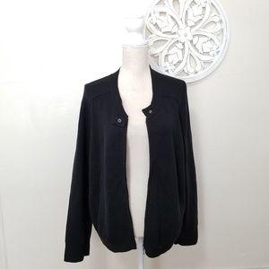 Eileen fisher size XL silk full zip cardigan